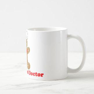 Docteur de pain d'épice mug blanc
