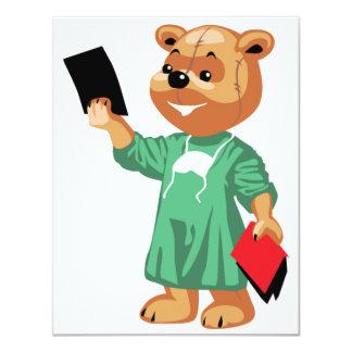 Docteur Invitations d'ours de nounours