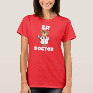 Docteur Tshirt d'ER d'ours