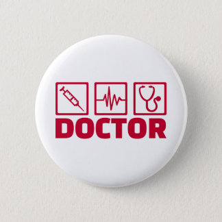 Doctor 2 Inch Round Button