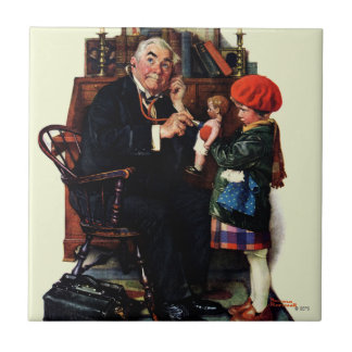 Doctor and the Doll Ceramic Tile