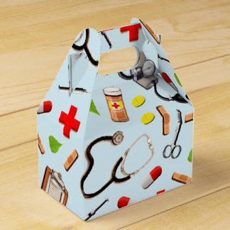 Doctor Appreciation Favor Box