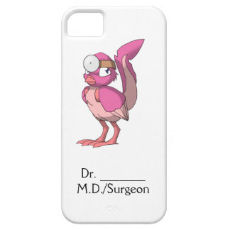 Doctor Berry Yogurt Reptilian Bird iPhone 5 Case