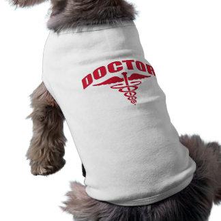 Doctor Caduceus Red Dog T Shirt