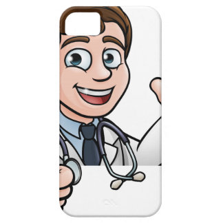 Doctor Cartoon Character Sign Thumbs Up iPhone 5 Covers