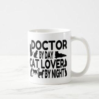 Doctor Cat Lover Basic White Mug