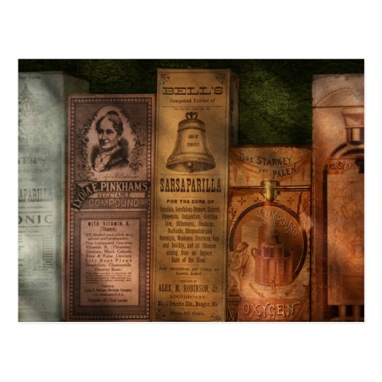 Doctor - Compound Extracts & Sarsaparilla Postcard