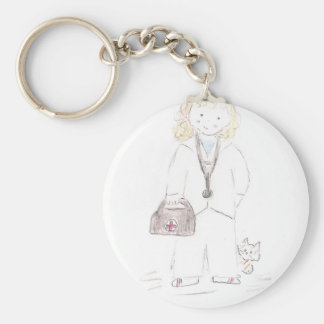 Doctor Female Keychains