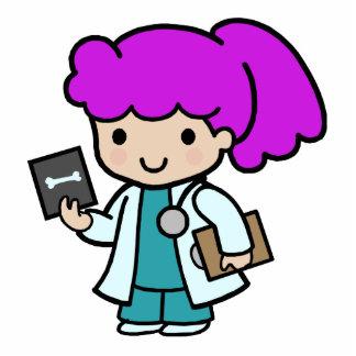 Doctor Girl Photo Sculpture