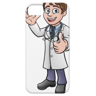 Doctor Giving Thumbs Up Cartoon Character Case For The iPhone 5