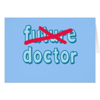 Doctor Graduation Products Card
