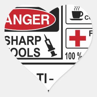 doctor heart sticker