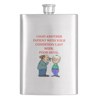 DOCTOR HIP FLASK
