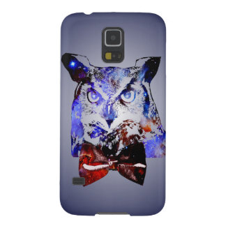 Doctor Hoot | Time Traveling Galaxy Police Owl Galaxy S5 Cover