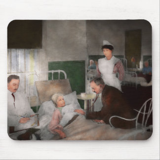 Doctor - Hospital - Bedside manner 1915 Mouse Pad