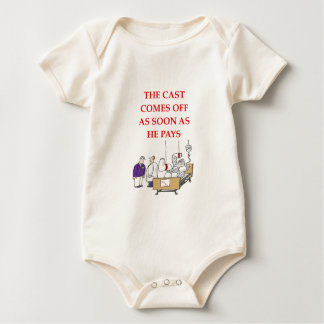 doctor joke baby bodysuit