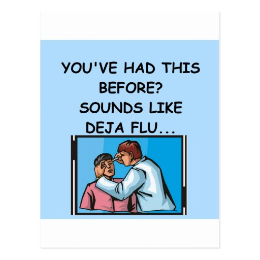 DOCTOR joke Post Cards