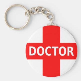 Doctor Logo Keychain