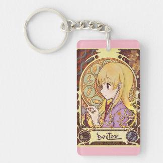 Doctor Mucha   doctor miyushiyadokuta doctor Single-Sided Rectangular Acrylic Keychain