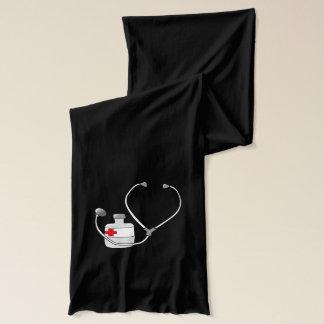 Doctor Nurse Sports Medicine Peace Love Destiny Scarf