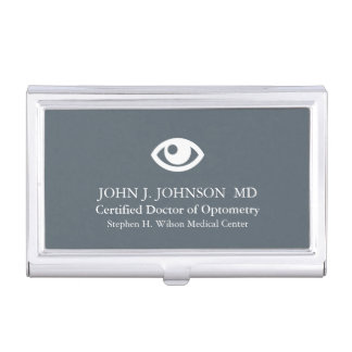 Doctor of Optometry Personalized Business Card Holder