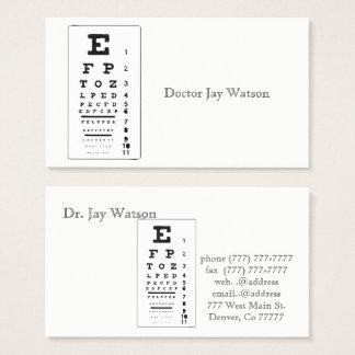 Doctor Office Eye Care Destiny Destiny'S Business Card
