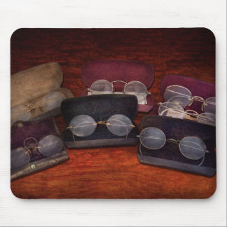 Doctor - Optometrist - Array of Opticals Mouse Pad