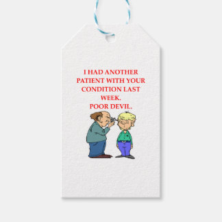 DOCTOR PACK OF GIFT TAGS