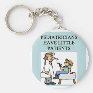 doctor physician surgeon joke basic round button keychain