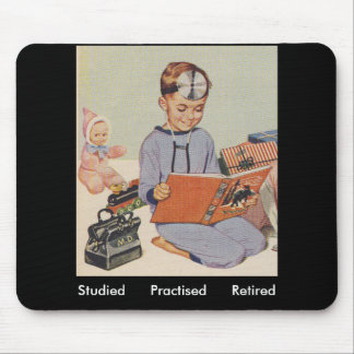 Doctor Retirement - Retro Mouse Pad
