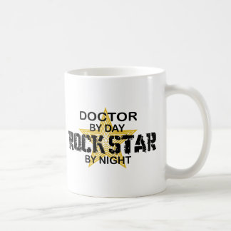 Doctor Rock Star Night Coffee Mug