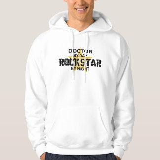 Doctor Rock Star Night Hoodie