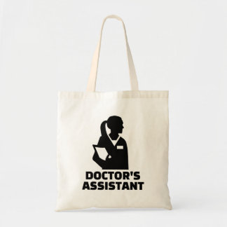 Doctor's assistant tote bag