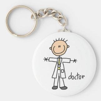 Doctor Stick Figure Key Chain