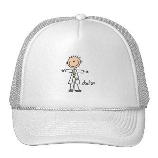 Doctor Stick Figure Trucker Hat
