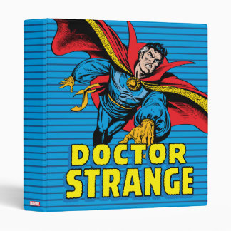 Doctor Strange Flying 3 Ring Binders