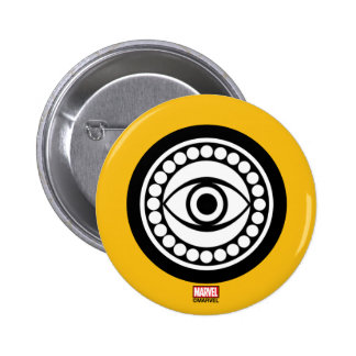 Doctor Strange Retro Icon 2 Inch Round Button