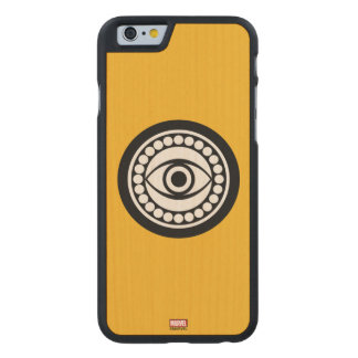Doctor Strange Retro Icon Carved Maple iPhone 6 Case