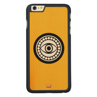 Doctor Strange Retro Icon Carved Maple iPhone 6 Plus Case