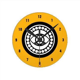 Doctor Strange Retro Icon Round Clock