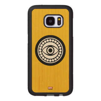 Doctor Strange Retro Icon Wood Samsung Galaxy S7 Case