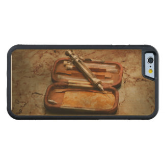 Doctor - The Hypodermic Syringe Carved Maple iPhone 6 Bumper Case
