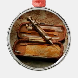 Doctor - The Hypodermic Syringe Metal Ornament