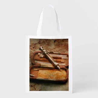 Doctor - The Hypodermic Syringe Reusable Grocery Bag