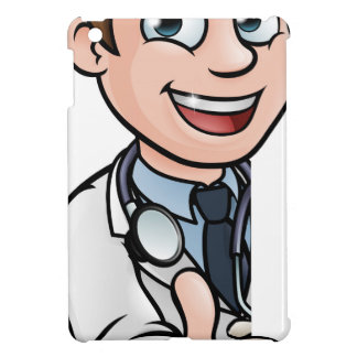 Doctor Thumbs Up Cartoon Character Sign iPad Mini Case