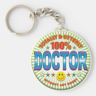 Doctor Totally Keychain