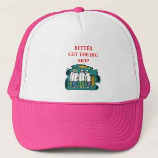doctor trucker hat