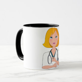 Doctor With A Stehoscope Mug