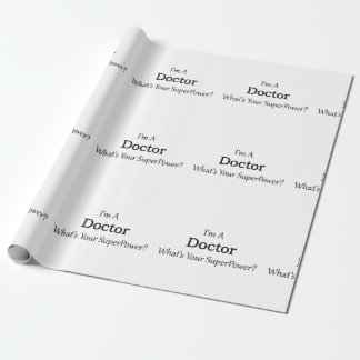 Doctor Wrapping Paper