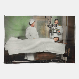 Doctor - Xray - Getting my head examined 1920 Kitchen Towel